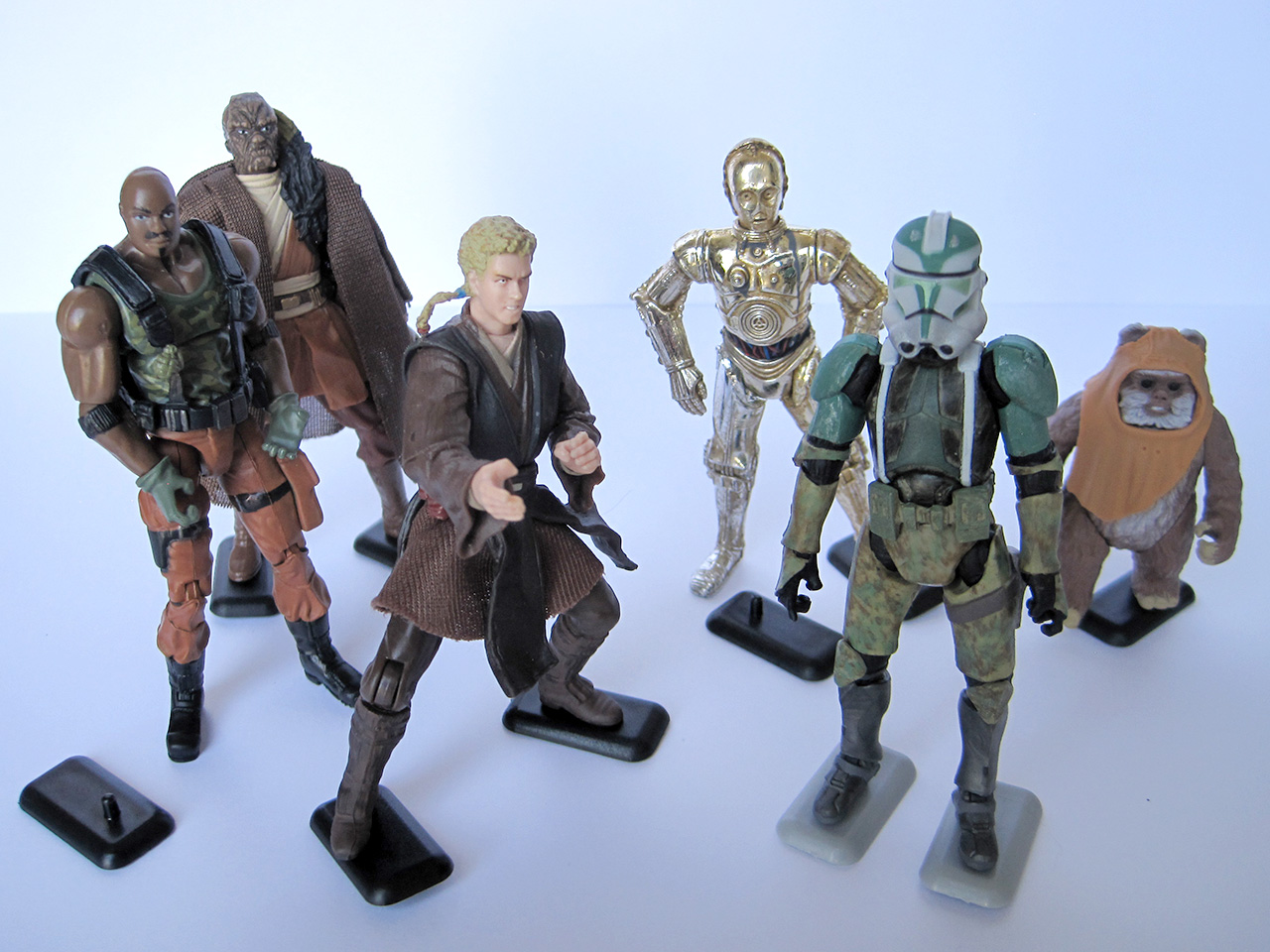 The Earth Modern Action Figure Stands