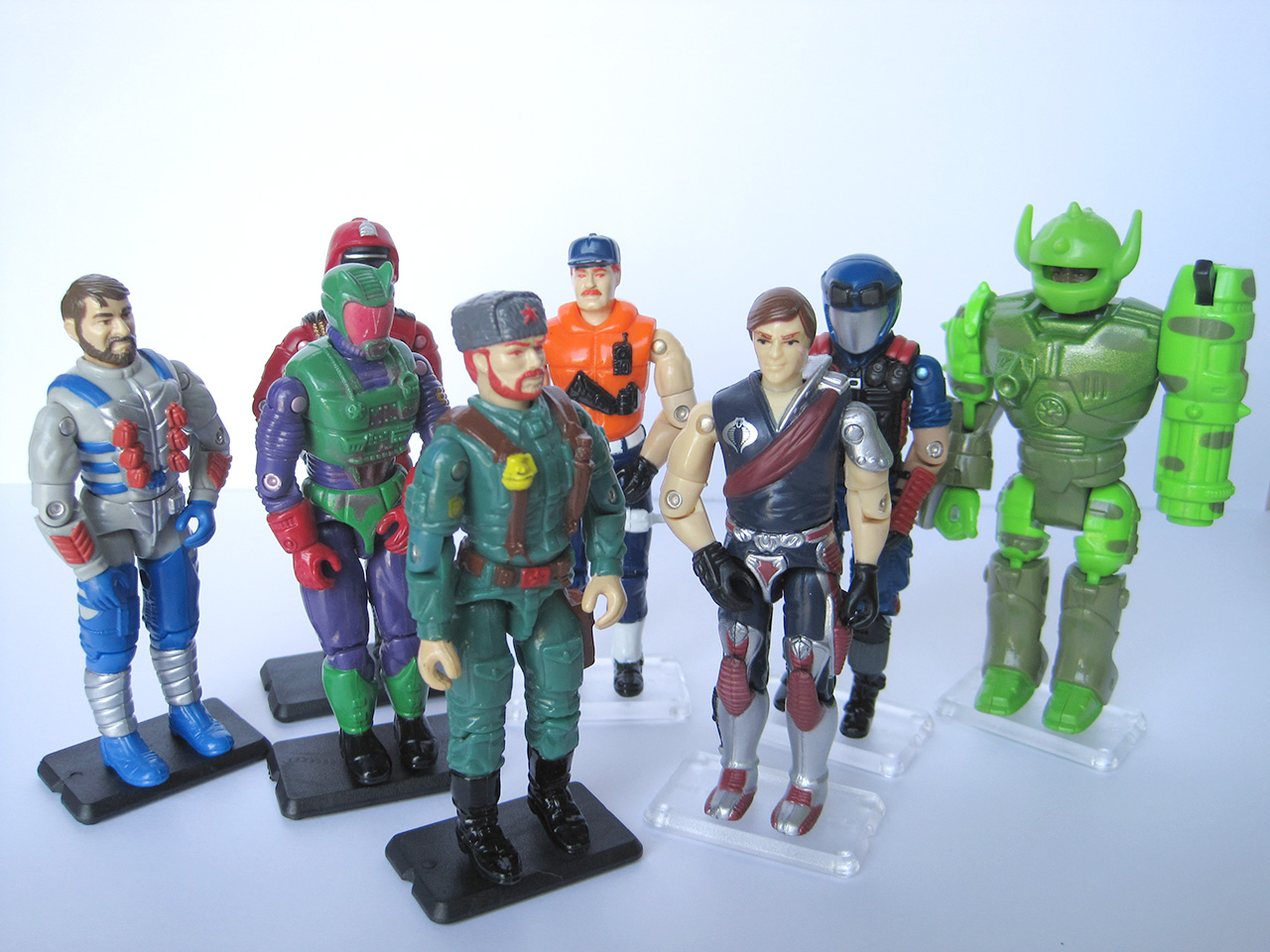 SmallJoes Vintage Action Figure Stands