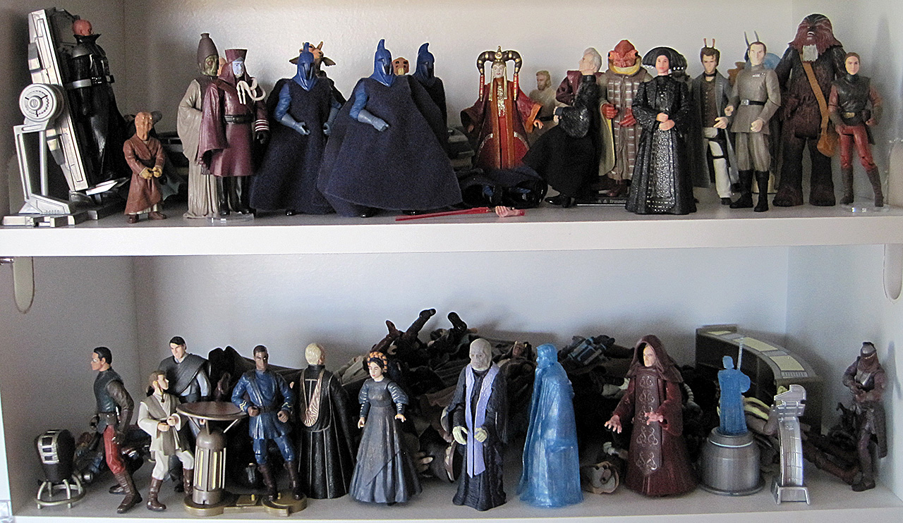 Star Wars Coruscant Action Figures