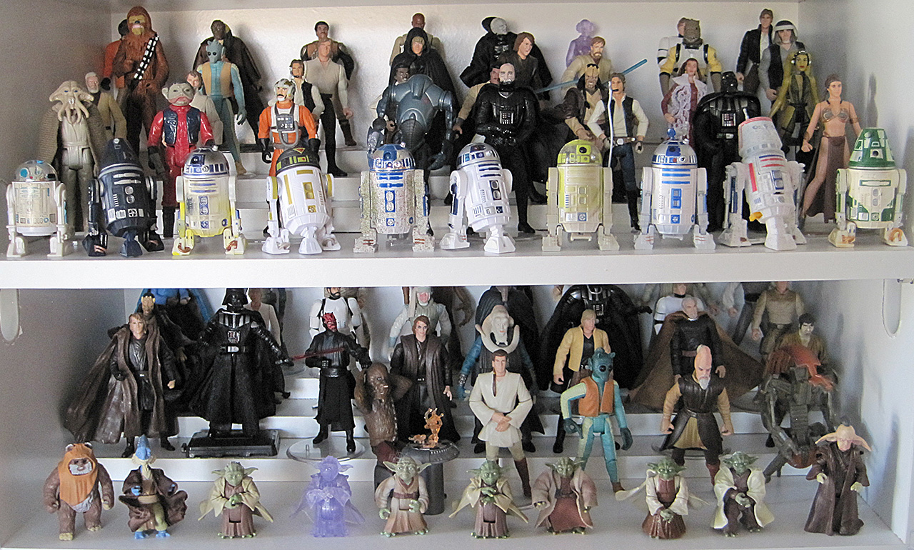 Star Wars Saga Action Figures