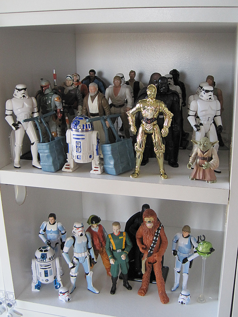Star Wars Powers of the Force and comic book appearance action figures