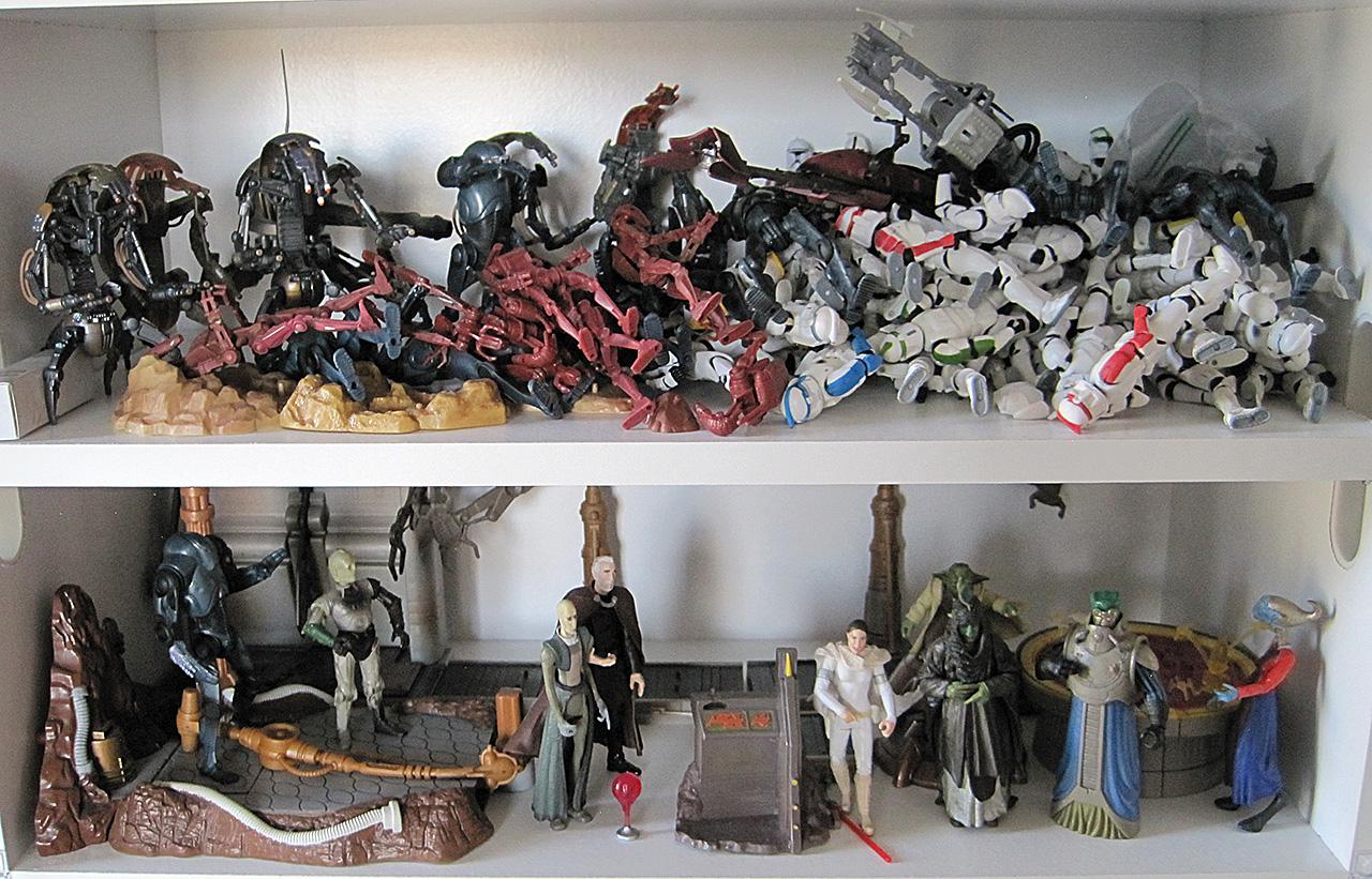 Star Wars Geonosis Action Figures