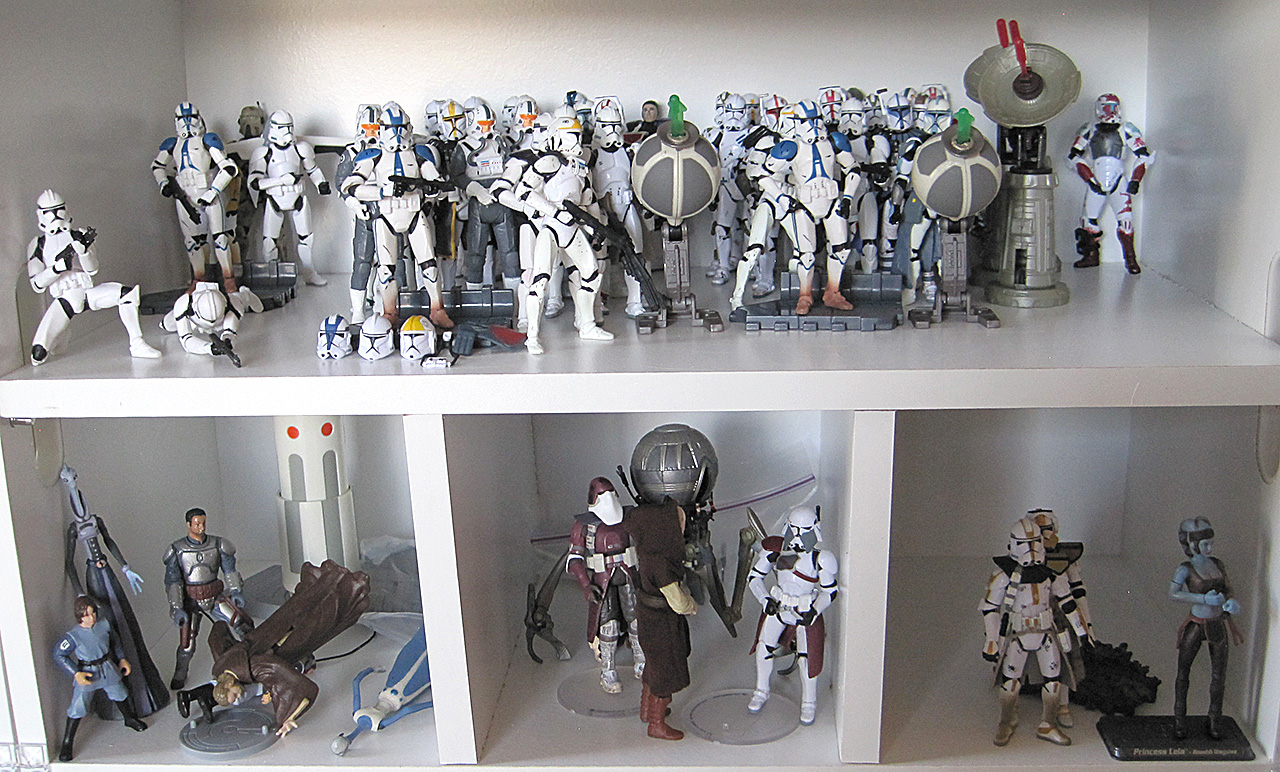Star Wars Clone Trooper Action Figures