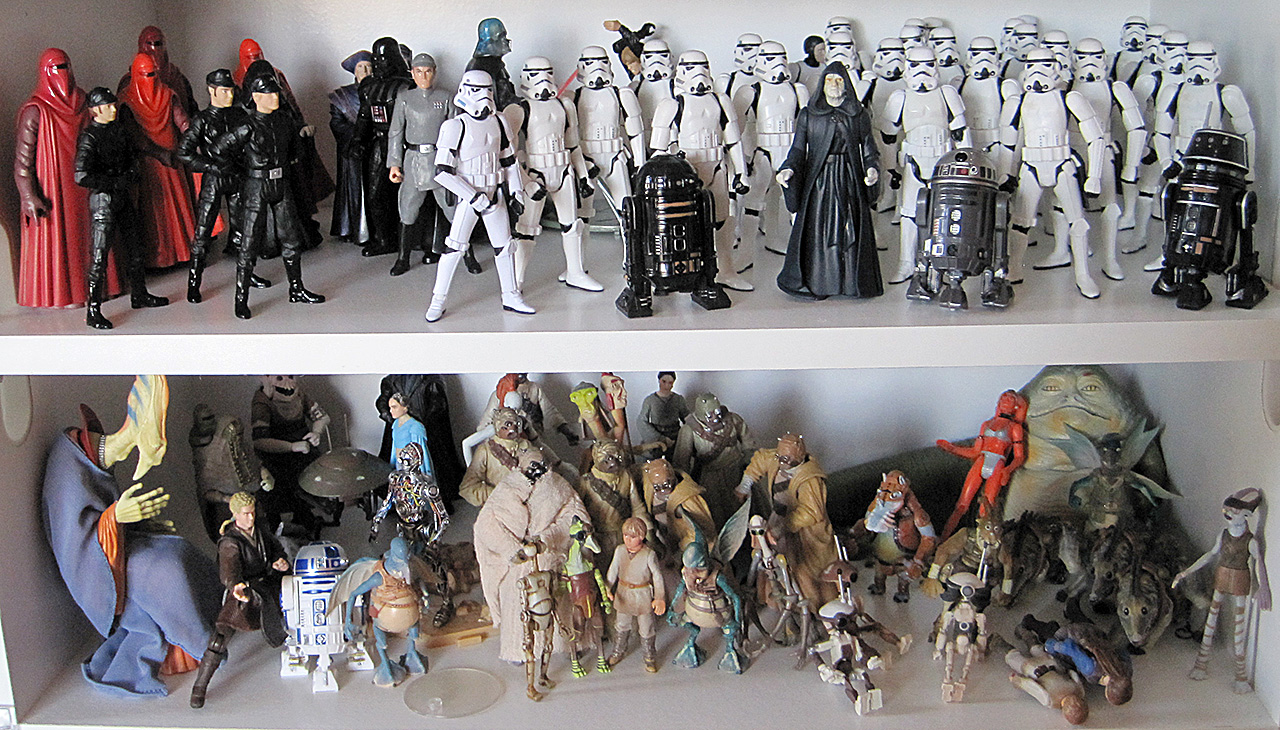 Star Wars Death Star 2 and Prequel Tatooine Action Figures