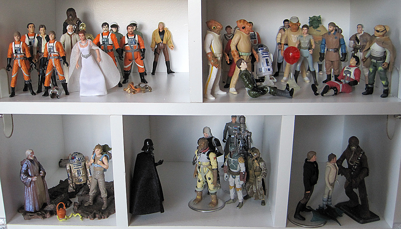 Star Wars Trilogy Action Figures