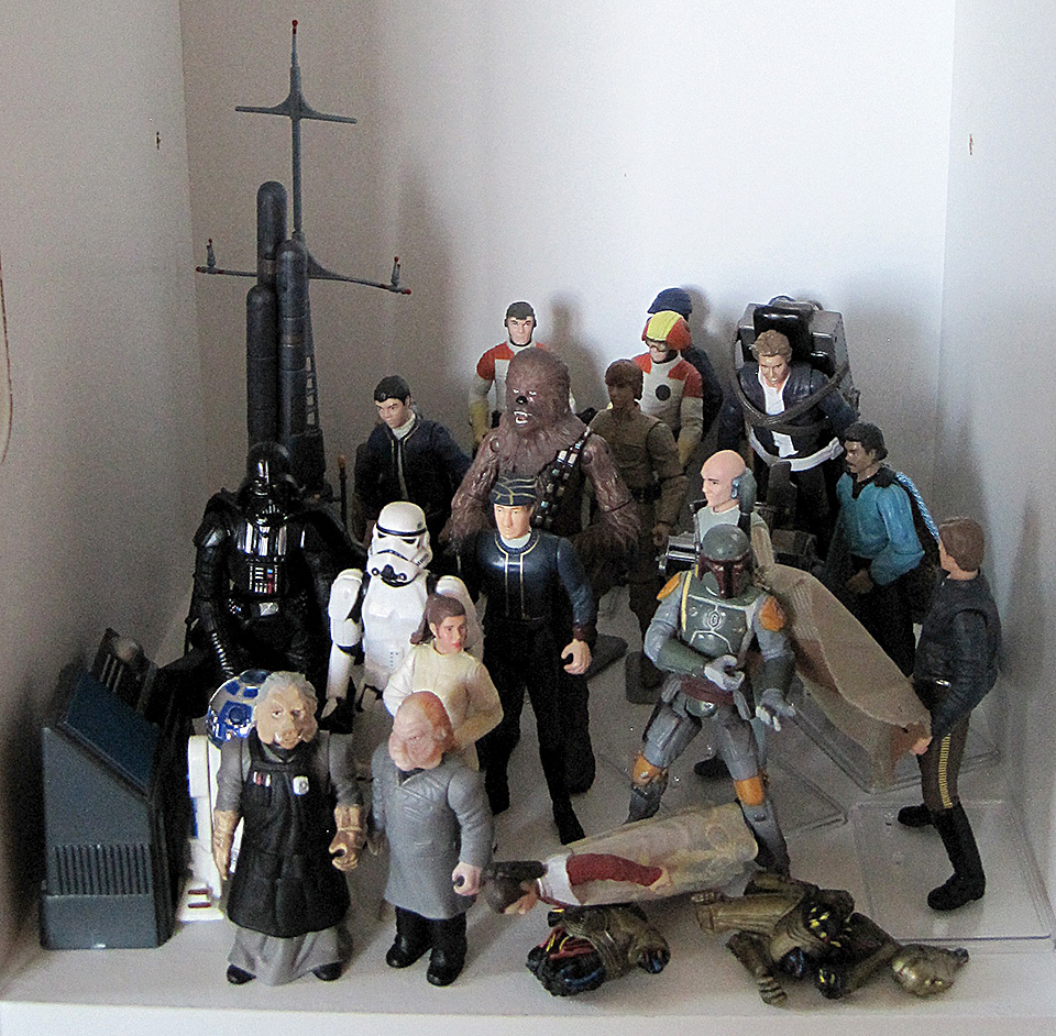 Star Wars Cloud City Action Figures