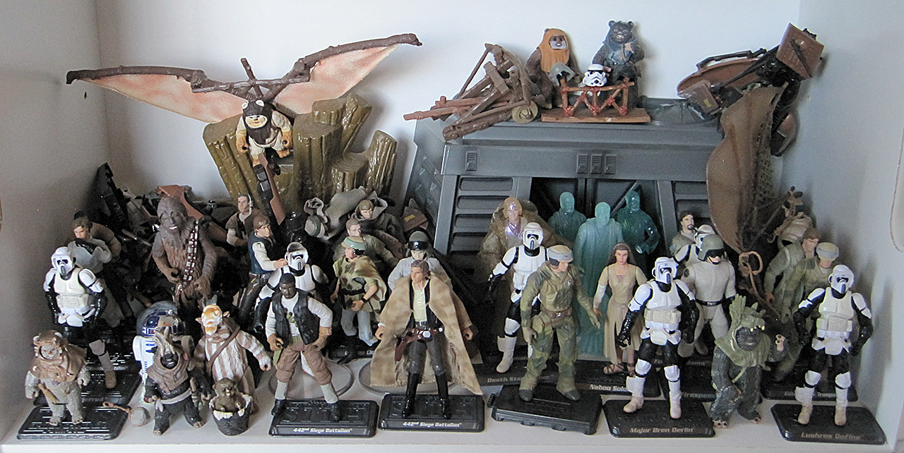 Star Wars Endor Action Figures