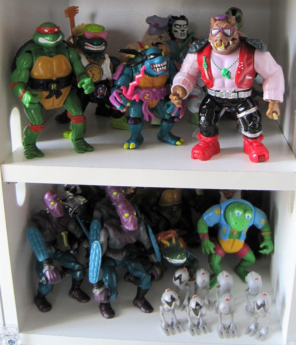 Teenage Mutant Ninja Turtles Action Figures by Playmates