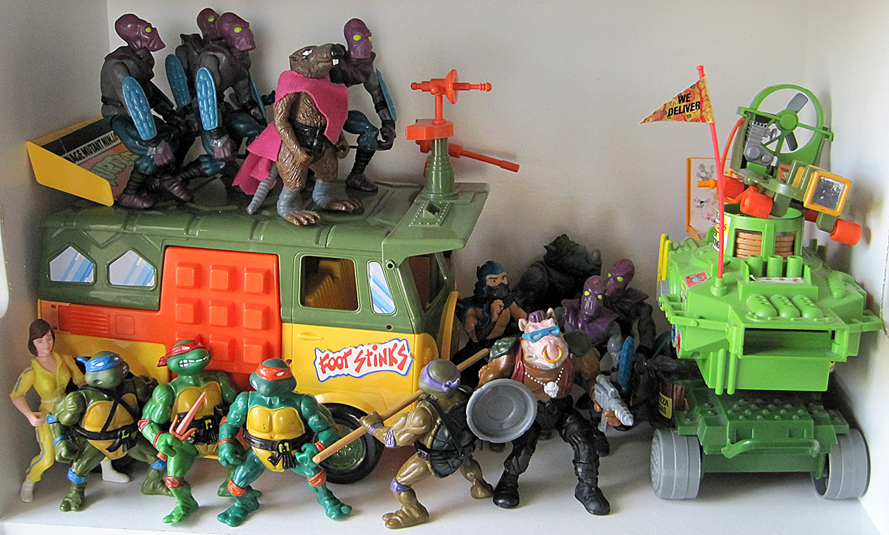 Teenage Mutant Ninja Turtles Action Figures by Playmates