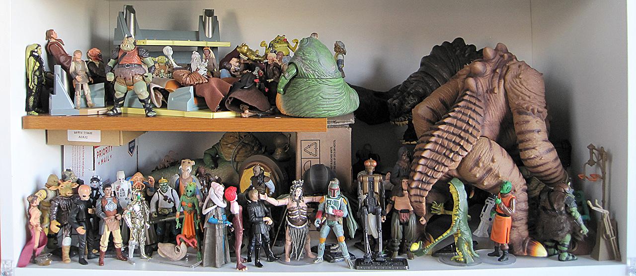 Star Wars Jabba's Palace and Jedi Council Chamber